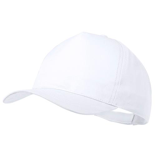 Gorra poliéster  blanco