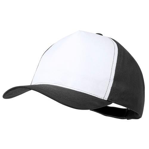 Gorra poliéster negra