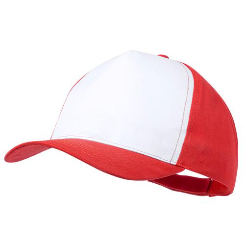 Gorra poliéster roja