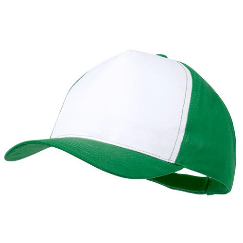 Gorra poliéster verde