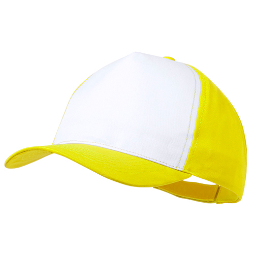 Gorra poliéster amarillo