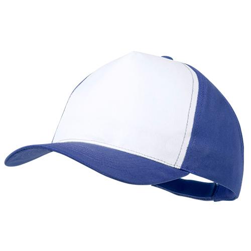 Gorra poliéster azul