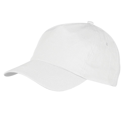 Gorra algodón blanca
