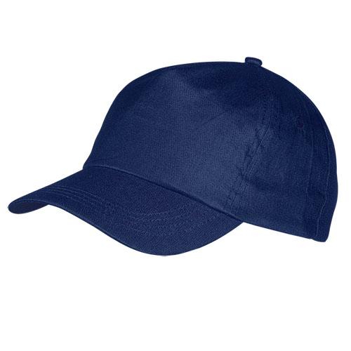 Gorra algodón azul