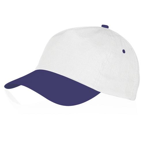 Gorra algodón violeta