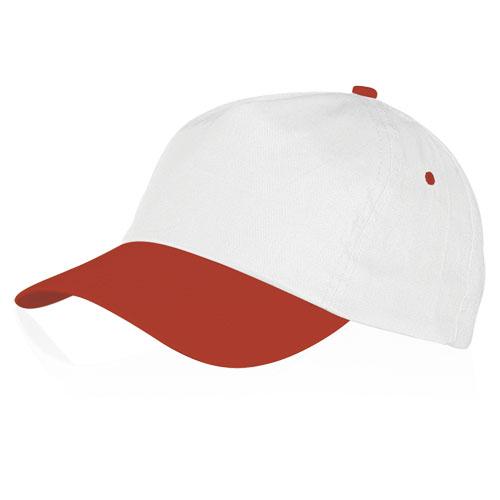 Gorra algodón básica blanca