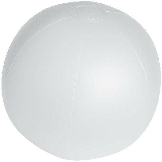Pelota Playa PVC blanca