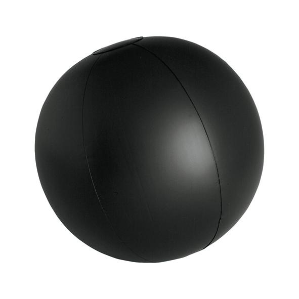Pelota Playa PVC negra