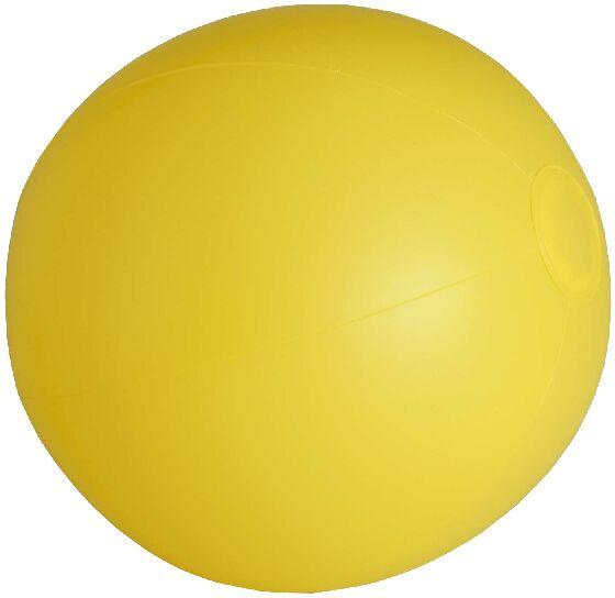 Pelota Playa PVC amarilla
