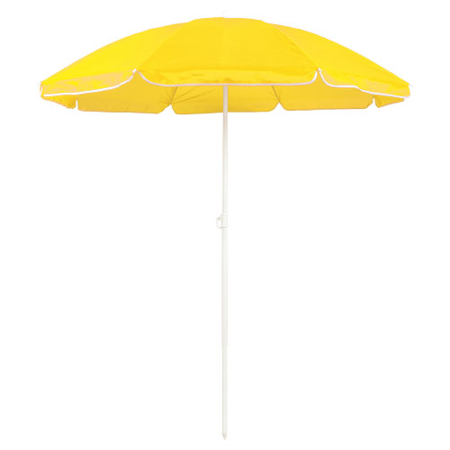Sombrilla nylon amarillo