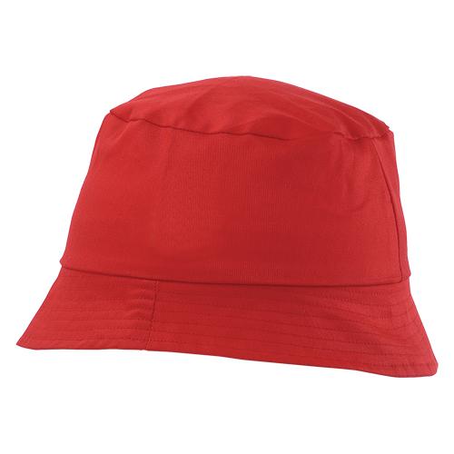 gorro algodón rojo