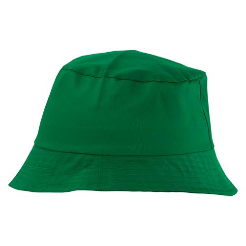 gorro algodón verde