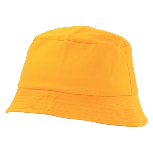 gorro algodón amarillo