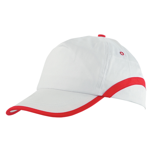 Gorra algodón linea blanca