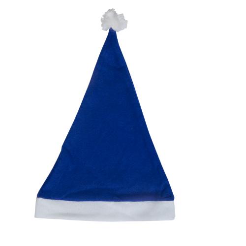 gorro papá noel azul