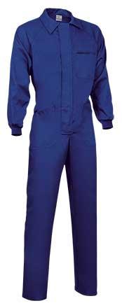 Buzo laboral sarga azulino