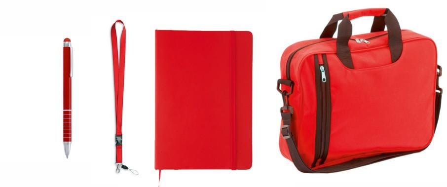 Pack congreso premium rojo