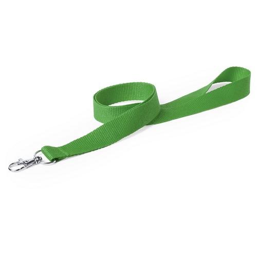 lanyard simple verde