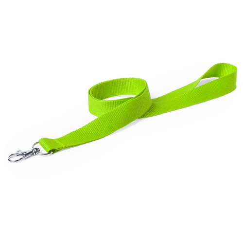 lanyard simple verde manzana