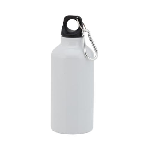Bidón de aluminio 400ml Blanca