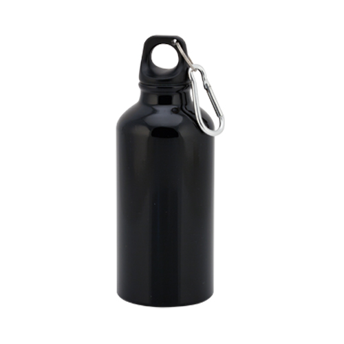 Bidón de aluminio 400ml Negra
