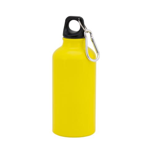 Bidón de aluminio 400ml Amarilla