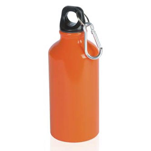 Bidón de aluminio 400ml Naranja