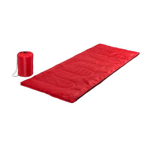 Saco de dormir rojo