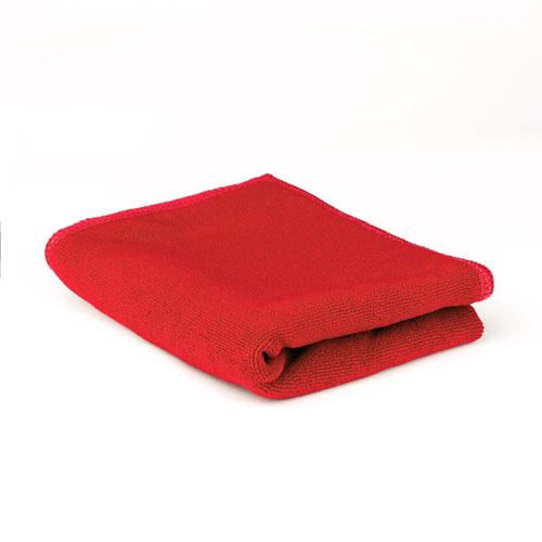 Toalla absorbente Roja