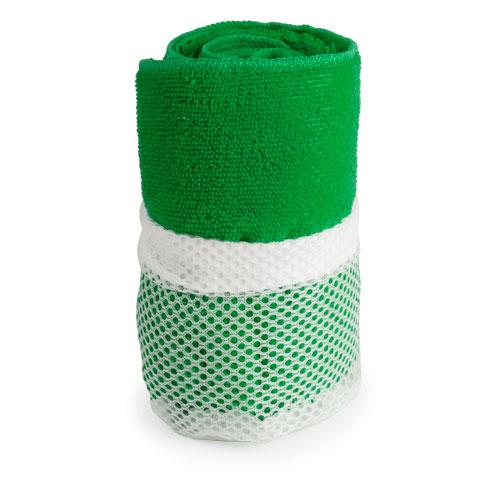 Toalla gimnasio absorbente Verde