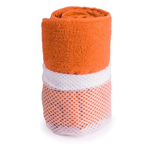 Toalla gimnasio absorbente Naranja