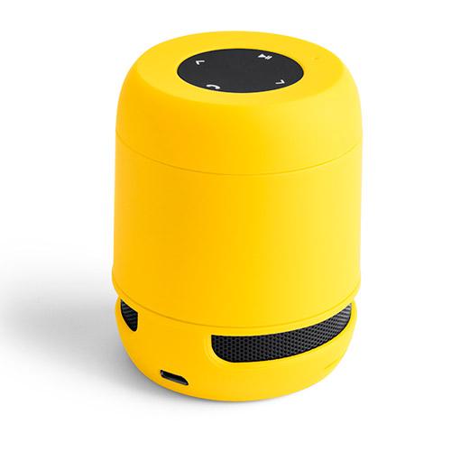 Altavoz amarillo