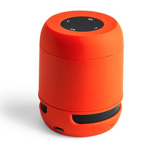 Altavoz naranja