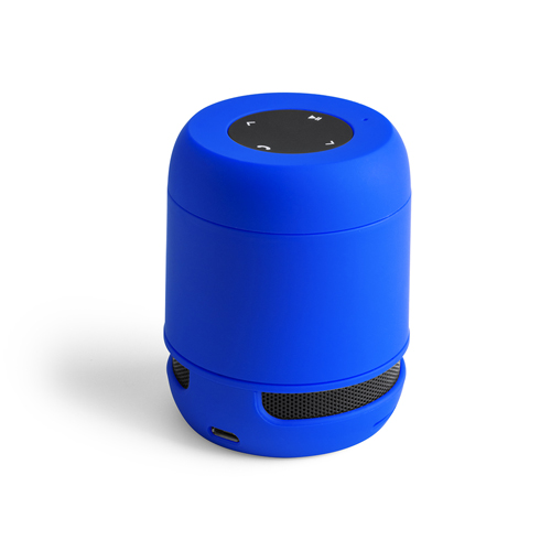 Altavoz azul