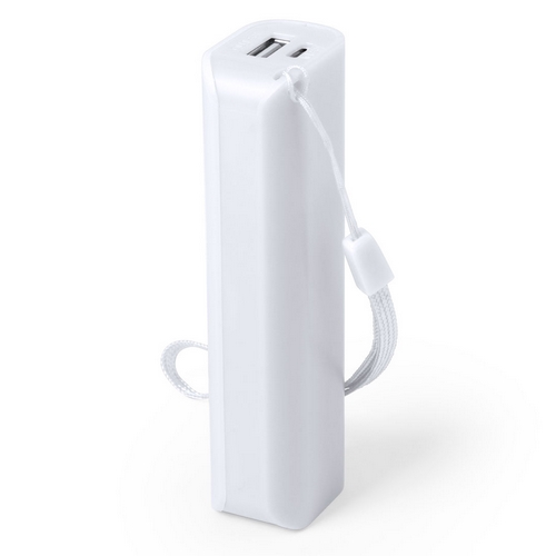 power bank blanco