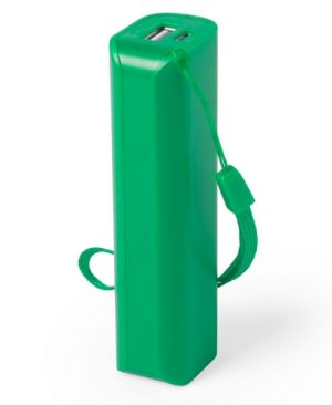 power bank verde