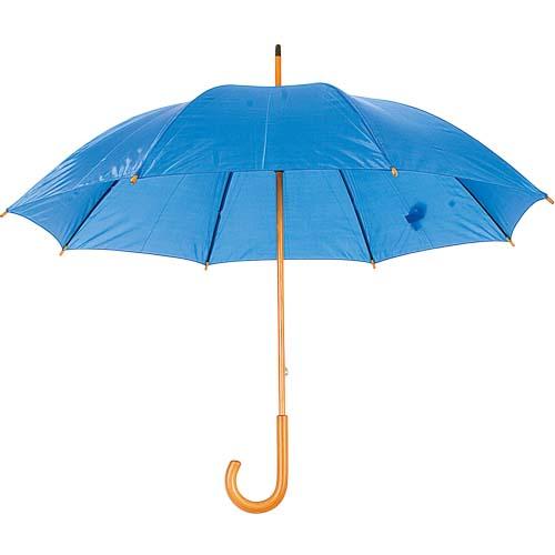 paraguas con madera