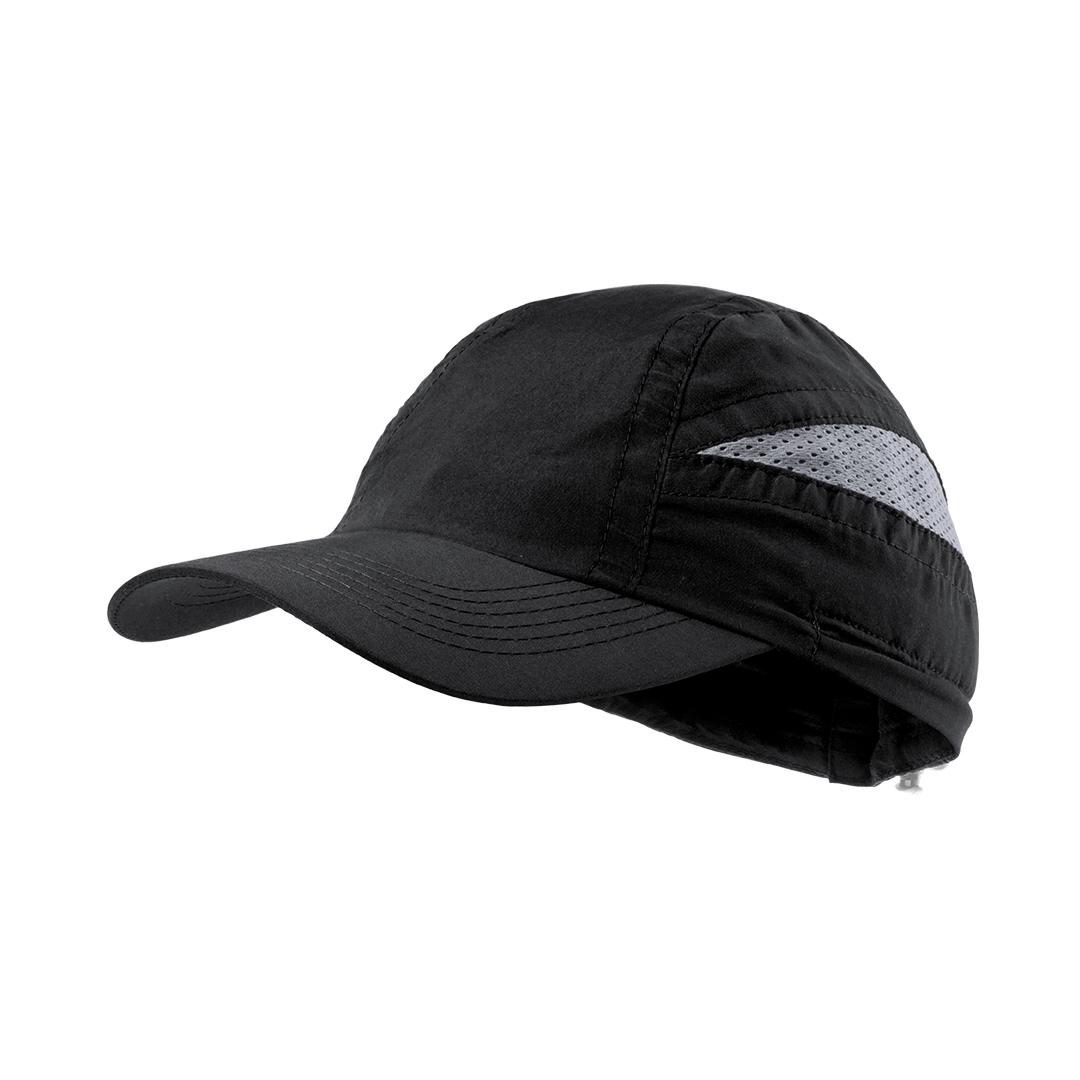 gorra deportiva negra