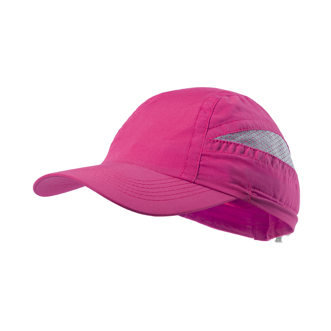 gorra deportiva fucsia